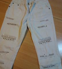 Bijele traperice 34