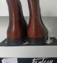 Čizme talijanske od prave kože - NOVO