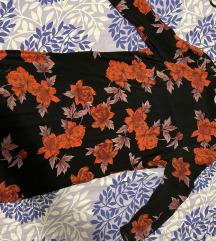 Haljina sa cvjetnim uzorkom