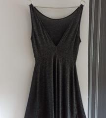 H&M šljokičasta večernja party haljina