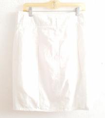 Bijela ljetna suknja Benetton 36