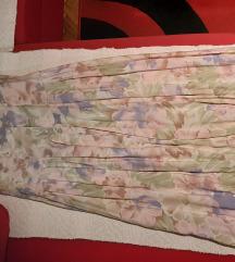 Retro plisirana haljina