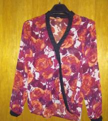 Bluza Ženska cvjetnog uzorka