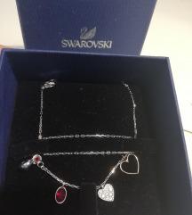 AKCIJA!!! Swarovski ogrlica, original