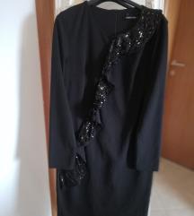 Crna svečana haljina - 50% sada 50 kn