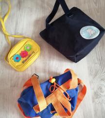 Lot torbica za djecu