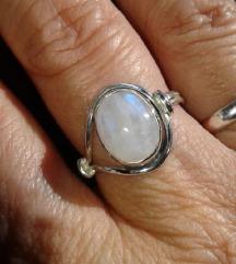 Moonstone prsten, srebro
