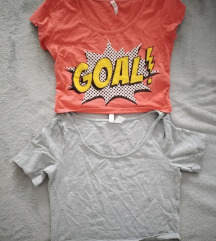 Crop top majice