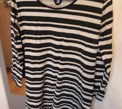 Prugasta pamucna haljina