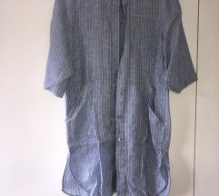 MaxMara lanena haljina/kosulja😍