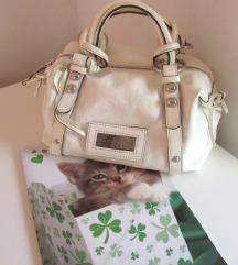 Coccinelle bijela kožna torba