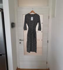 NOVO midi haljina (poludugi rukav)