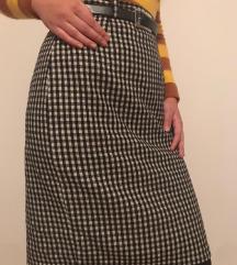 Vunena vintage suknja