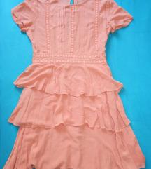 Nova haljina s čipkom i volanima