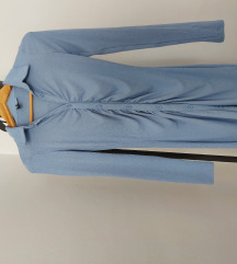 NOVA haljina s bočnim naborima