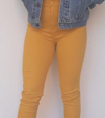 Tory Burch Mustard Yellow Mara Jean