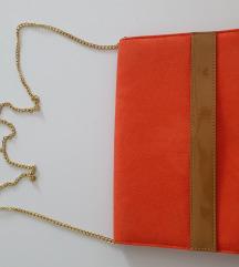 H&M torbica brušena eko koža