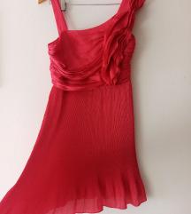 Comma ciklama boja haljine