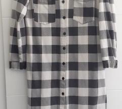 Karirana košulja/haljina