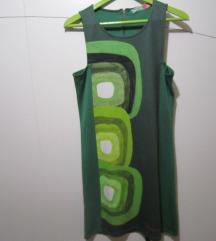 DESIGUAL zelena tunika