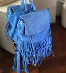 Plavi mini  ruksak
