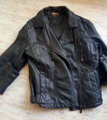 Kozna biker jakna