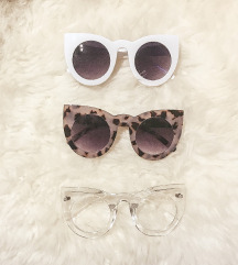 Lulus sunčane naočale mačka okvira