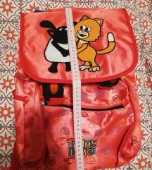 NOVI anatomski Ruksak/torba za vrtic/skolu crveni