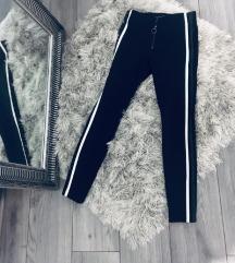 %SALE% Zara crne hlače visokog struka