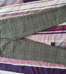 Karirane hlače H&M