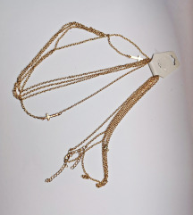 ogrlica za tijelo sa križevima