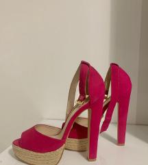 Buffalo pink sandals