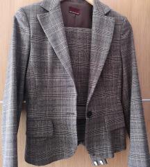 Moderno karirano odijelo