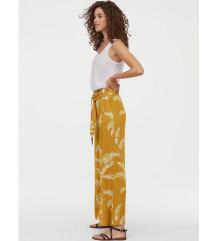 H&M wide leg hlače