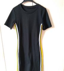 Mini haljina crna M