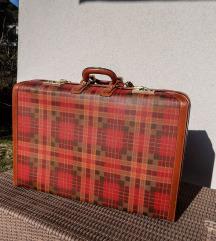 Potpuno novi kofer, retro vintage stil