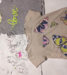 H&M i Carters majice Novo