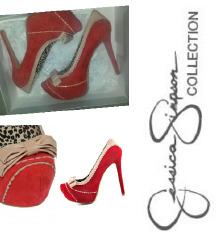 Jessica Simpson crvene štiklice SNIŽENO 380kn