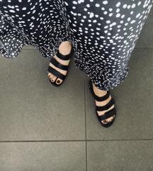 ECCO kožne crne sandale