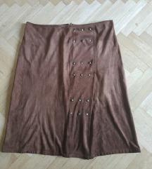 suknja tipa kamoš sa zakovicama