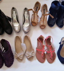 Štikle čizme sandale