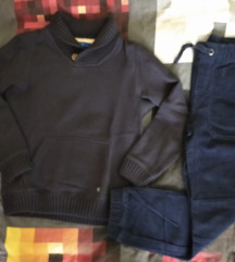 Lot za dječake: OVS pulover&mana samterice