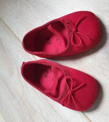 Crvene balerinkice za bebe