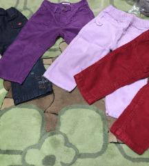 Dječje hlače samterice 12-18 mj