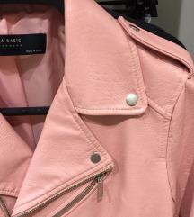 %% ZARA roza jakna
