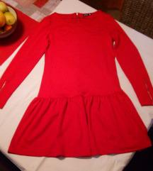 Crvena  haljina,38🌹NOVO