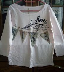 Majica sa printom Bershka, M