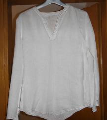 Lanena bijela majica