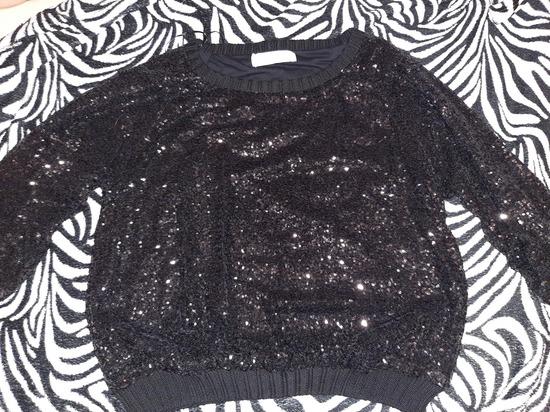 Zara knit sequine majica M