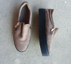 Brušena koža cipele